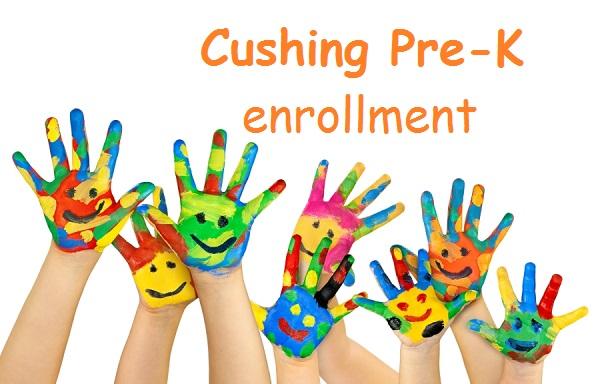 Cushing schools pre-kindergarten enrollment
