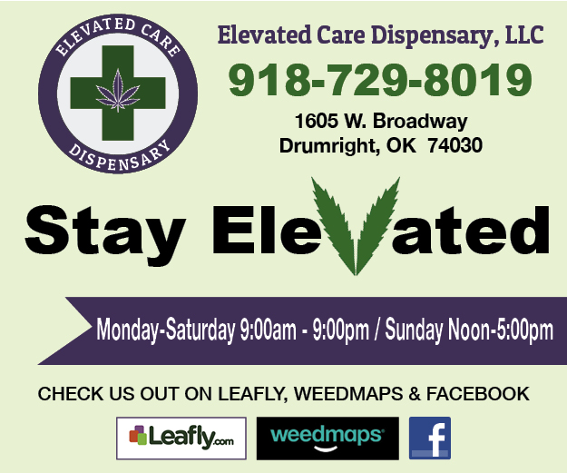 https://www.facebook.com/Elevated-Care-Dispensary-406607896543730/