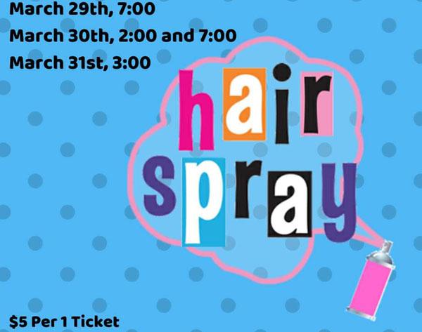 Hairspray Jr at CHS Dora Hobbs Performing Arts Center
