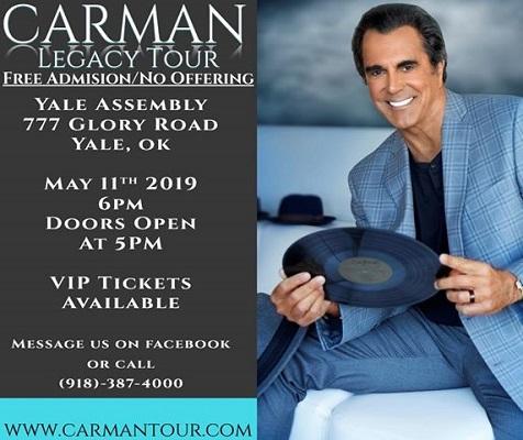 Carman Legacy Tour