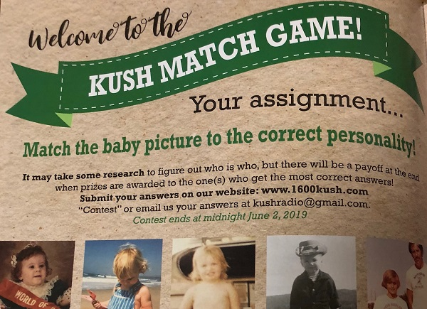 KUSH Match Game spring 2019
